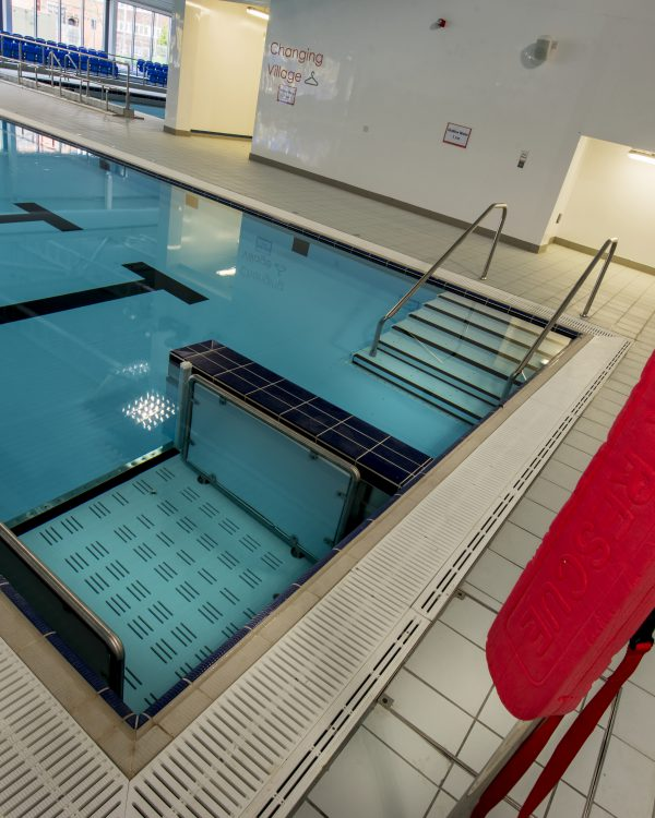 Crewe Lifestyle Centre Pool Lift