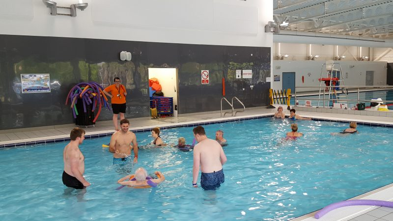 Crewe Lifestyle Centre Dementia Swim Session