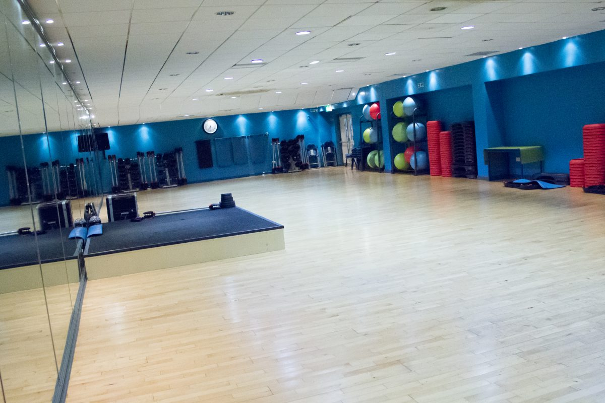 Macclesfield leisure Centre Fitness Studio