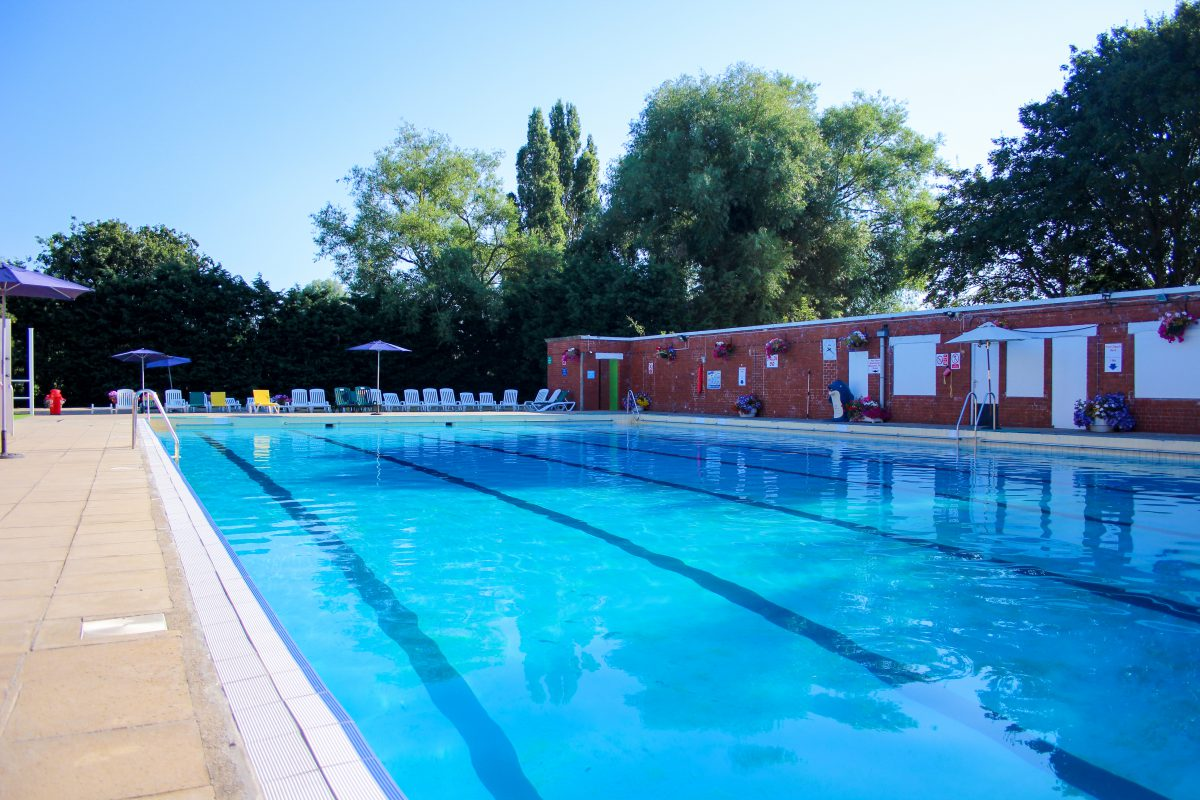 Nantwich Swimming Pool Outdoor Brine Pool