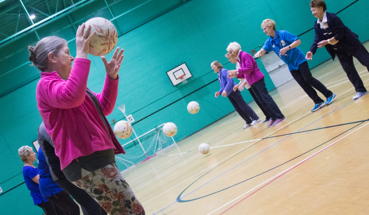 poynton walking netball