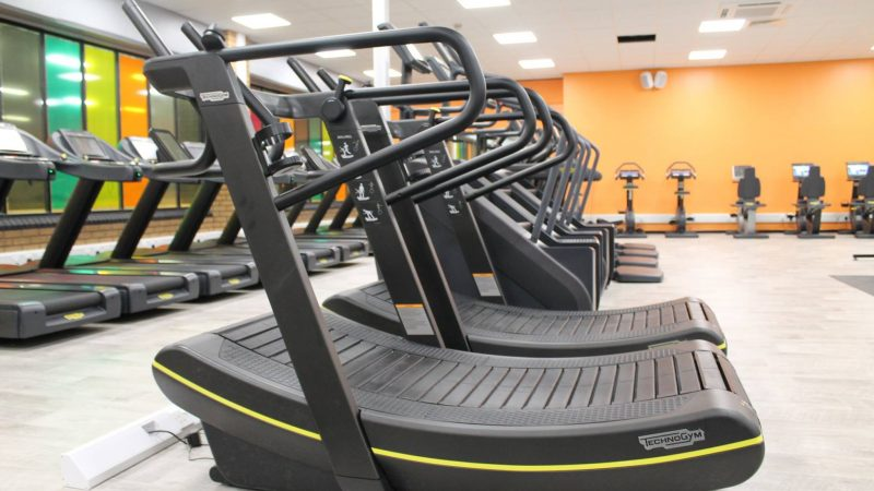 Macclesfield leisure Centre gym