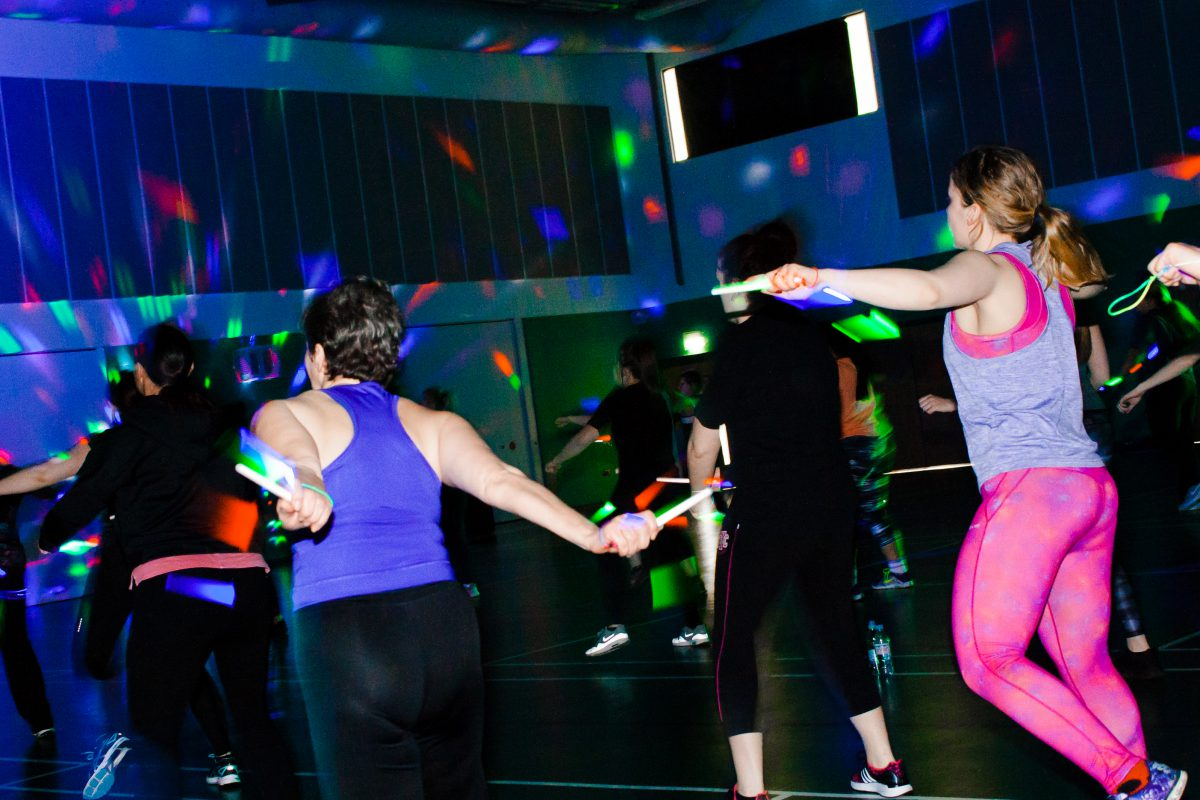 Clubbercise Group Fitness Class