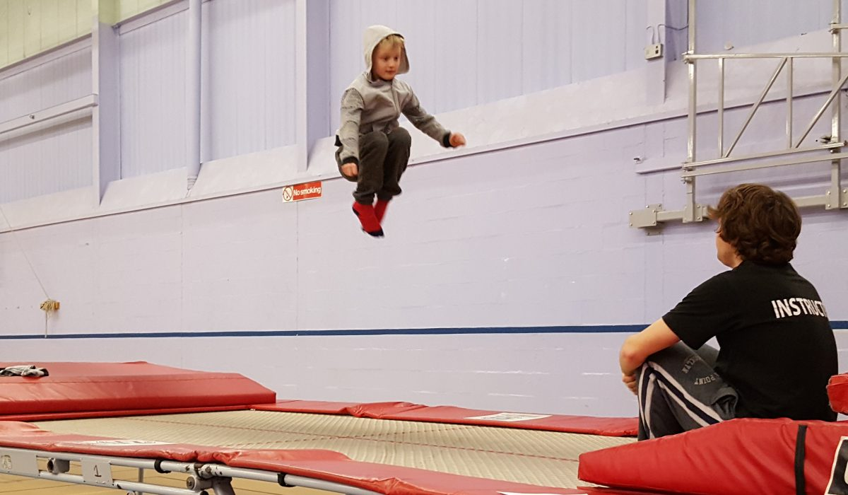 disability trampolining