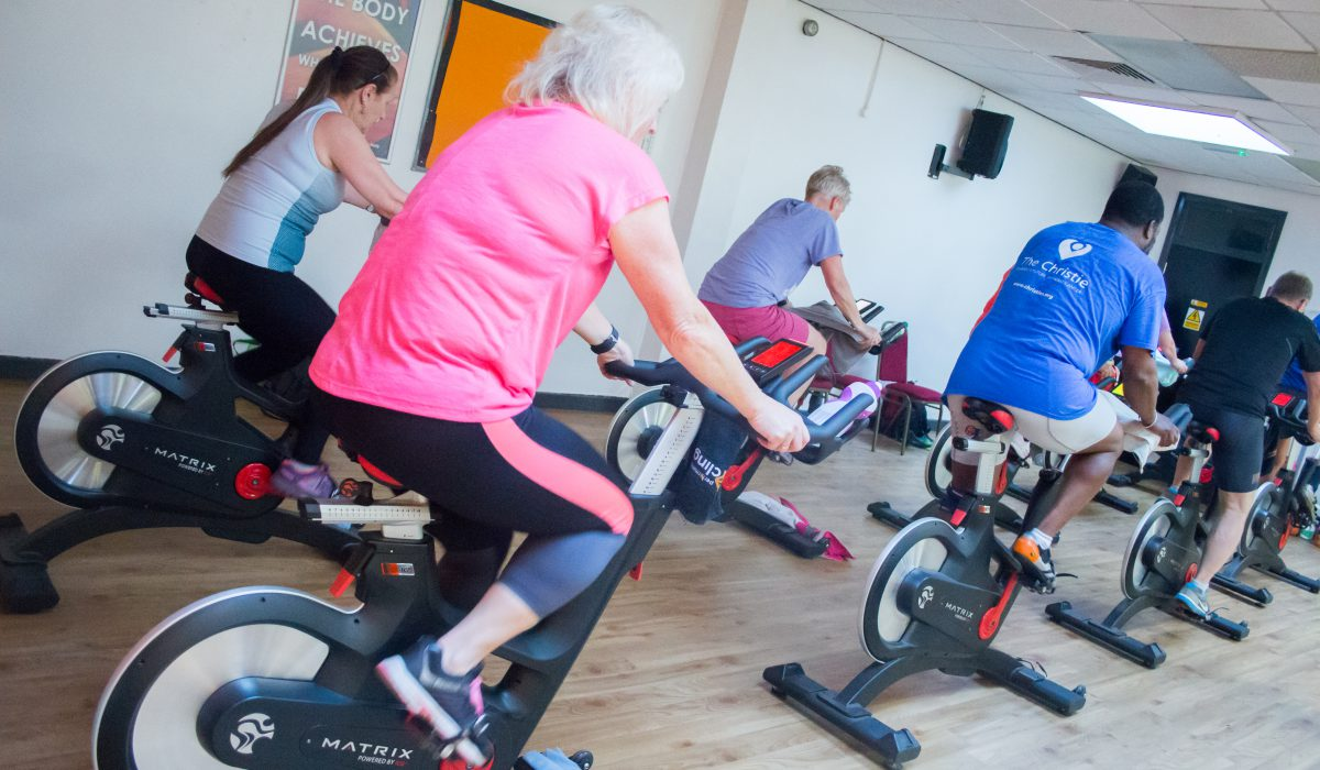 Knutsford Leisure Centre Spin Class