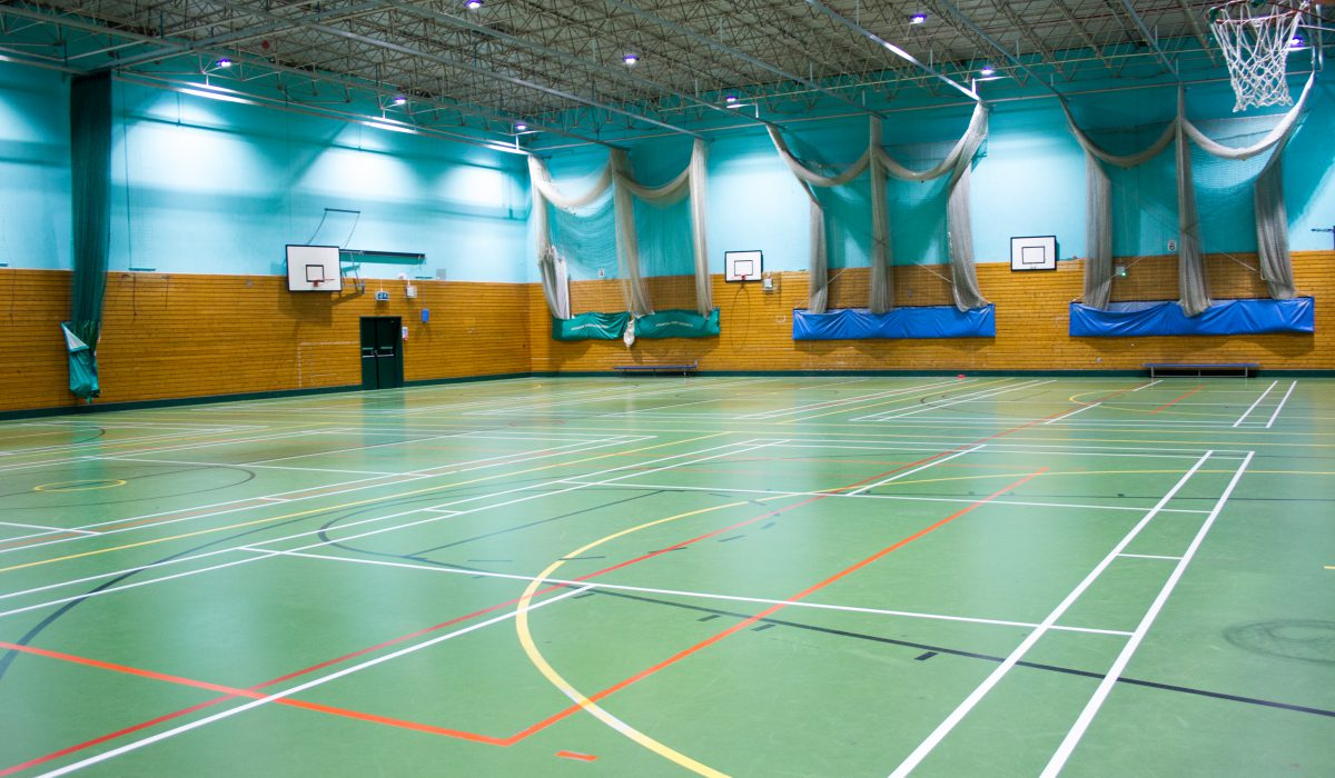 Alsager Leisure Centre Sports Hall