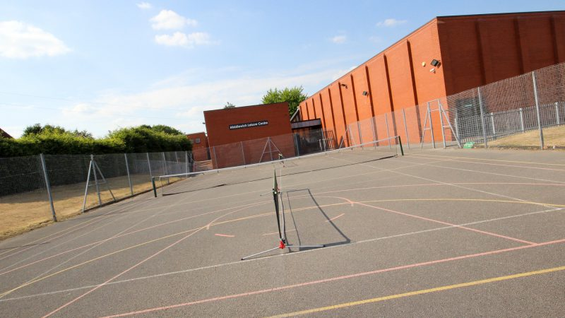Middlewich Leisure Centre Courts