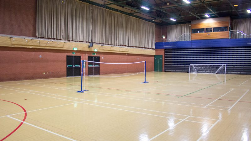 Wilmslow Leisure Centre Sports Hall