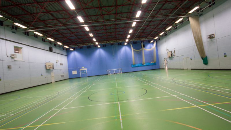 Holmes Chapel Leisure Centre Sports Hall