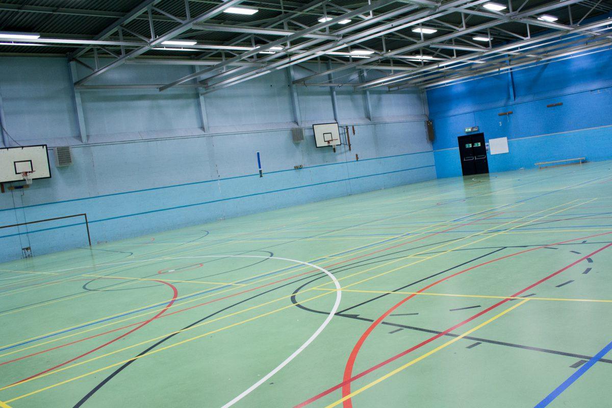 Sandbach Leisure Centre Sports Hall