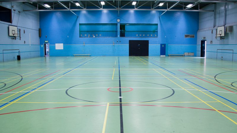 Sandbach Leisure Centre Sports Hall