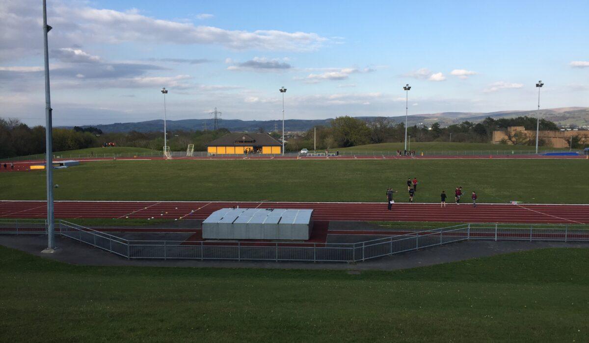 Macclesfield Athletics Track - panoramic